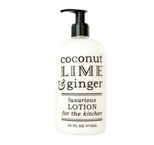 Coconut Lime & Ginger Lotion