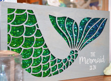 Mermaid Sequin Sign