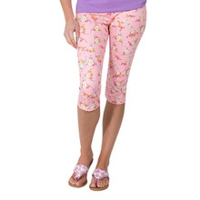 Capri Floral Skull Leggings by Simply Southern