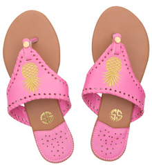 Sandals Pink Pineapple by Simply Southern