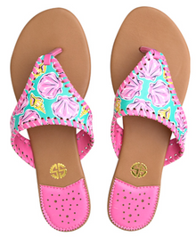 Sandals Seashells by Simply Southern