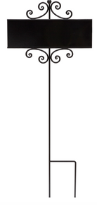Welcome Sign Holder Wrought Iron