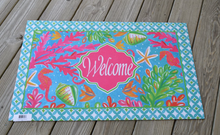 Welcome Mat Tropical Welcome Sea Life
