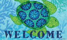 Welcome Mat Coastal Sea Turtle