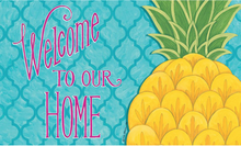 Welcome Mat Pineapple Welcome to Our Home