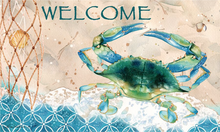 Welcome Mat Blue Crab Net