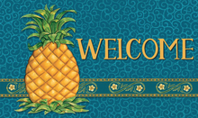 Welcome Mat Pineapple