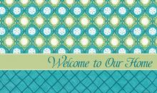Welcome Mat Seascapes Shells & Net