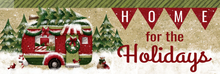 Welcome Sign Holiday Camper