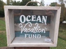 Wooden Bank Ocean Vacation Fund