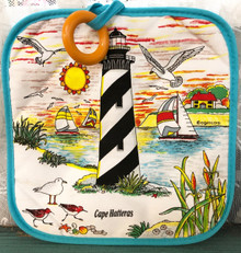 Cape Hatteras Lighthouse Potholder
