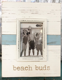 Beach Buds Wood Photo Frame