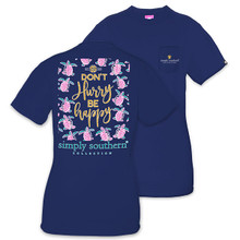 Simply Southern T-shirt Don't Hurry Be Happy