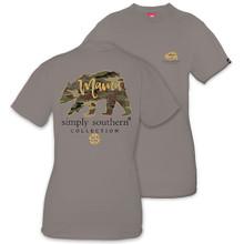 Simply Southern T-shirt Camo Mama Bear