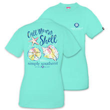 Simply Southern T-shirt Call Me on My Shell