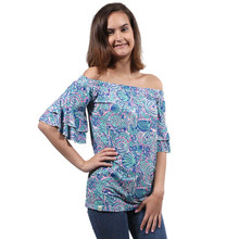 Simply Southern Sass Top - Swirly