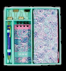 Simply Southern Notepad Set -Swirly Shells