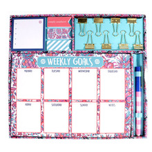 Simply Southern Weekly Stationary Set -Pineapples