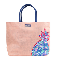 Simply Southern Pineapple Jute Tote