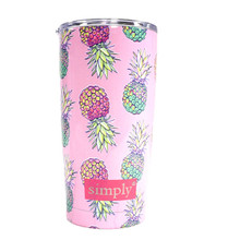 Simply Southern 20oz Tumbler with Lid - Pineapples