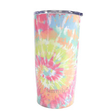 Simply Southern 20oz Tumbler with Lid - Tie Dye