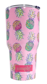Simply Southern 30oz Tumbler - Pineapples