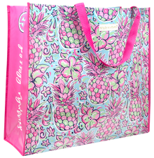 Simply Southern Eco Tote- Pineapples