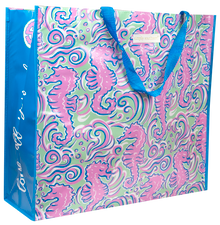 Simply Southern Eco Tote- Seahorse