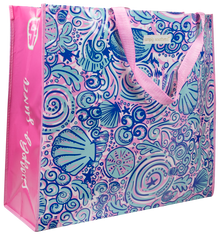 Simply Southern Eco Tote- Swirly Shells