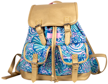 Simply Southern Book Bag - Swirly Shells