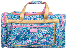 Simply Southern Duffle Bag - Swirly Shells