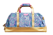 Simply Southern Travel Bag -Swirly Shells