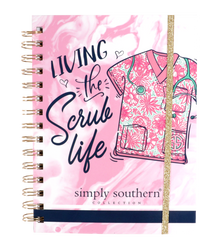 Simply Southern Notebook - Scrub Life