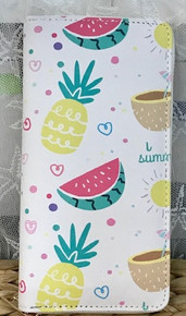 Zip-Around Wallet Pineapples & Watermelon