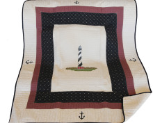 Cape Hatteras Quilted Throw