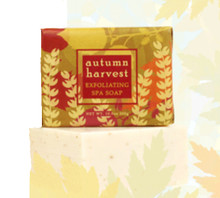 Autumn Harvest Exfoliating Spa Soap