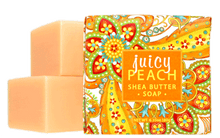 Juicy Peach Shea Butter Botanic Soap