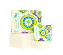 Snow Lily Shea Butter Soap