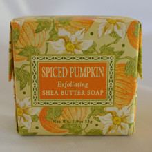 Spiced Pumpkin Exfoliating Shea Butter Soap
