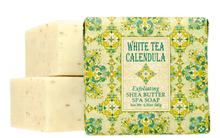White Tea Calendula Exfoliating Shea Butter Spa Soap