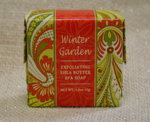 Winter Garden Exfoliationg Shea Butter Soap