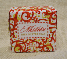 Mistletoe Shea Butter Soap