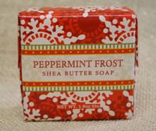 Peppermint Frost Shea Butter Soap