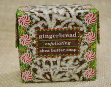 Gingerbread Exfoliating Shea Butter Soap