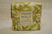 Fresh Holly French-Milled Shea Butter Soap