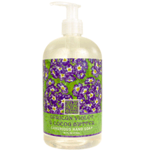 African Violet & Cocoa Butter Luxurious Liquid Hand Soap