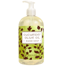 Cucumber Olive Oil Liquid Hand Soap
