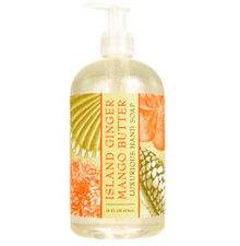 Island Ginger Mango Butter Luxurious Liquid Hand Soap
