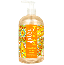 Juicy Peach Shea Butter Liquid Hand Soap
