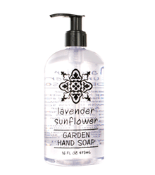 Lavender Sunflower Liquid Hand Soap